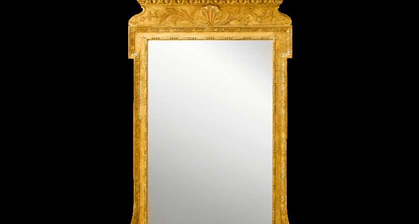 Antique Mirror Gilt Gesso George Georgian