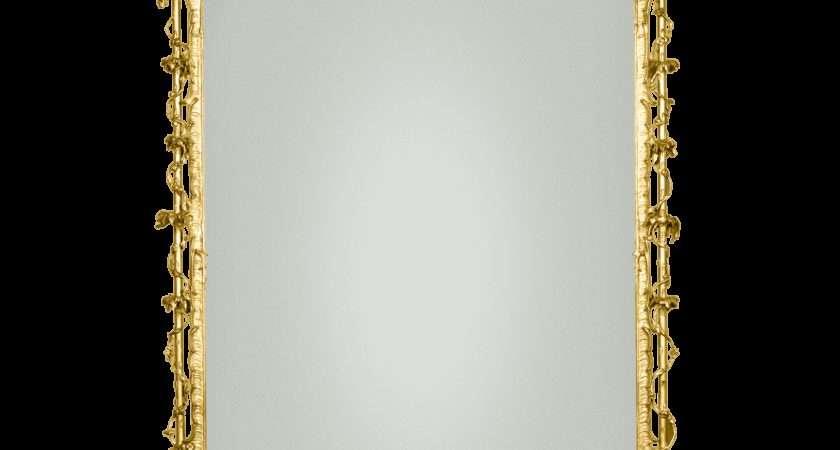 Antique Mirrors Rococo Revival Gilt Gesso Mirror