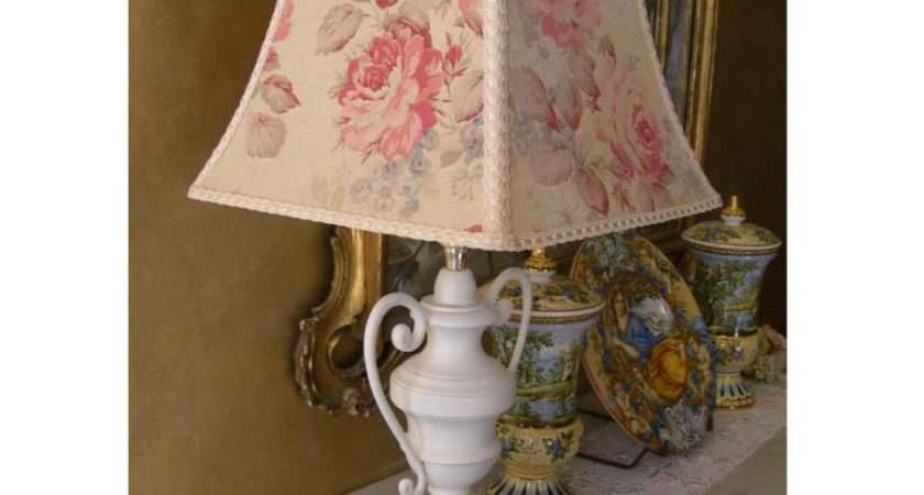 Antique Shabby Chic Table Lamps Bronze Chandelier