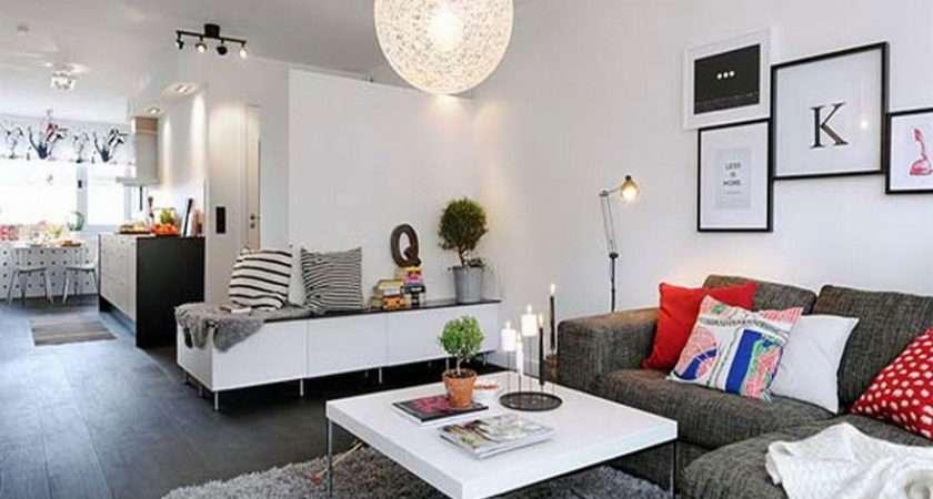 Apartment Living Room Design Interior Small Apartments
