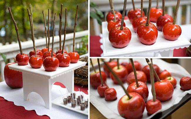 Apple Wedding Decoration Ideas Decorations