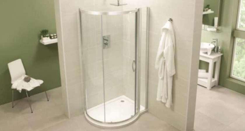 April Identitit Shape Quad Shower Enclosure Tray