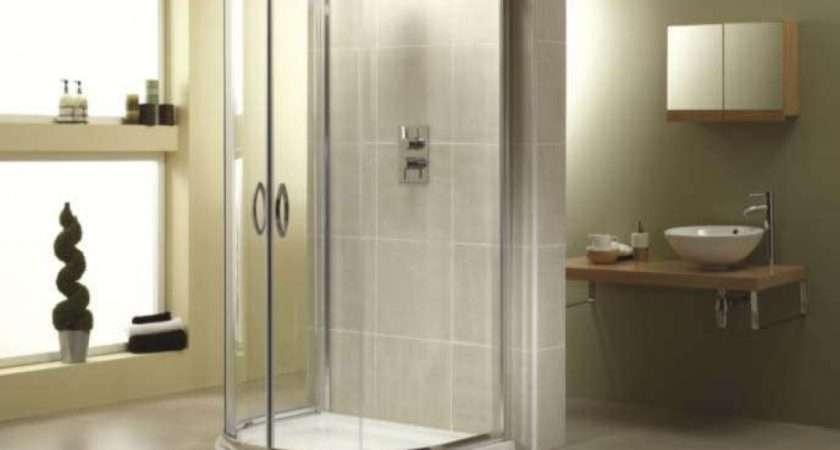 April Identitit Shape Quadrant Shower Enclosure Tray