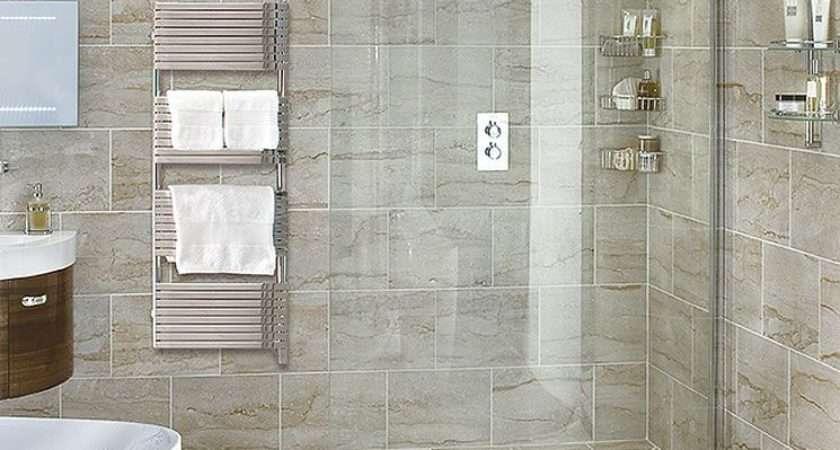 Aqata Spectra Luxury Curved Wet Room Walk Shower