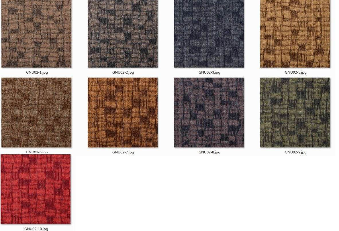 Architect Modern Design Carpet Floor Tiles