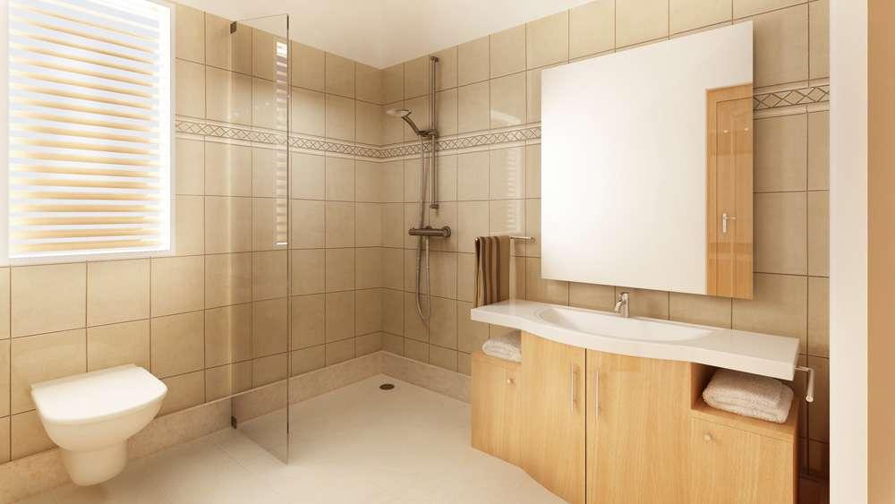 Architecture Master Bathroom New Delhi India