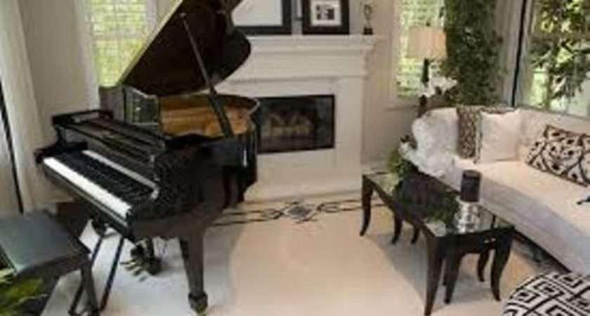 Arrange Living Room Grand Piano Ideas