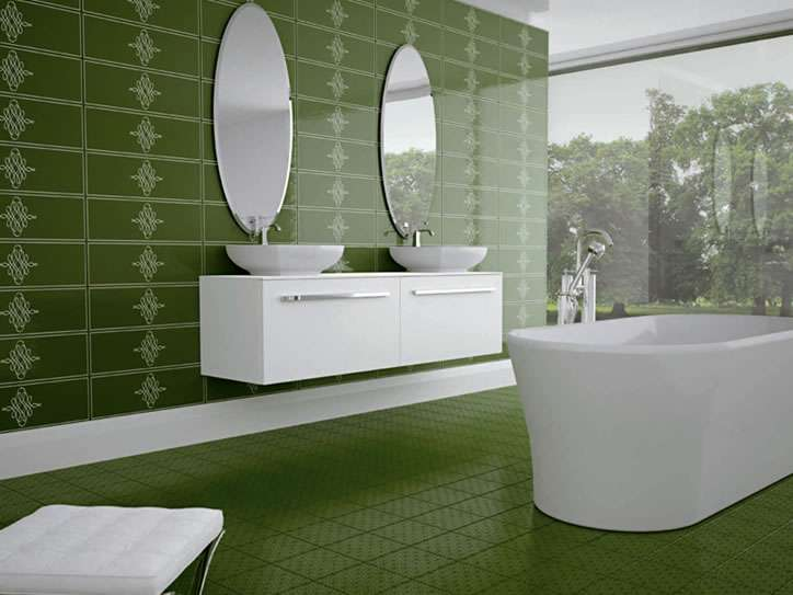 Arrangement Bathroom Tile Designs Dark Theme