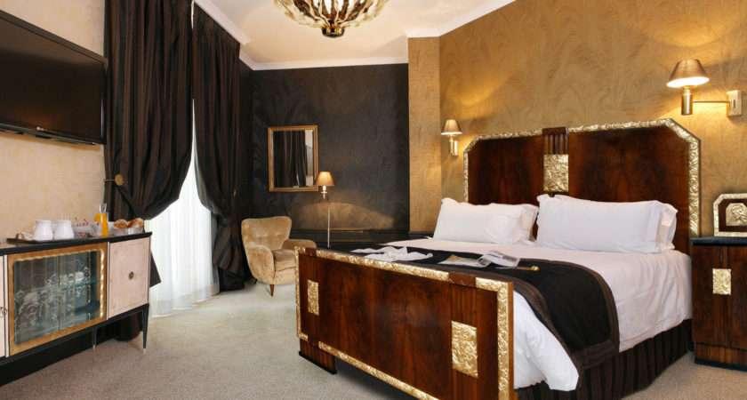 Art Deco Bedroom Furniture Luxury Paint