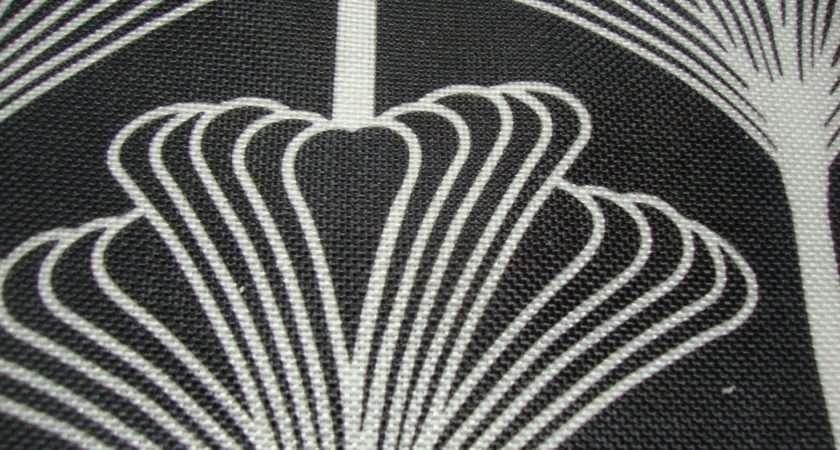 Art Deco Curtain Fabric Contemporary