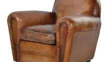 Art Deco Vintage Leather Sofa Armchair