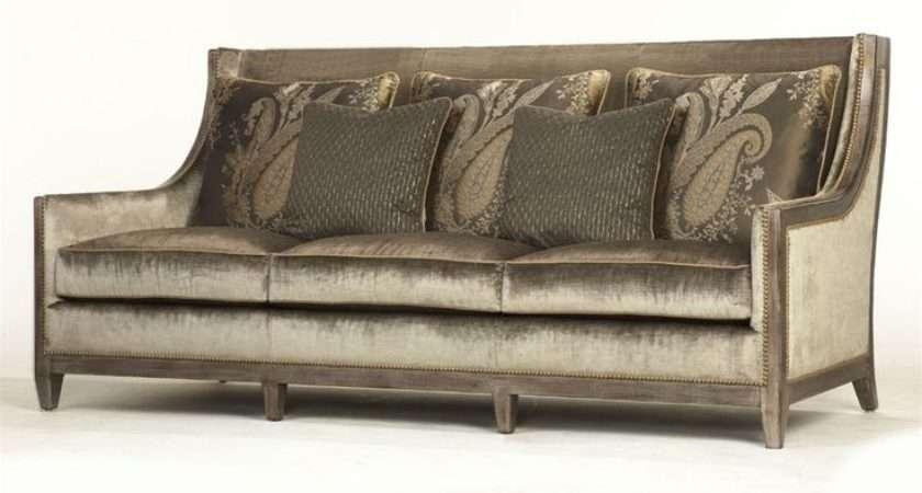 Art Nouveau Sofa Sleek Modern Design