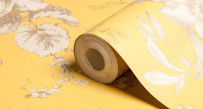 Arthouse Vintage Fleurette Gold Effect Floral