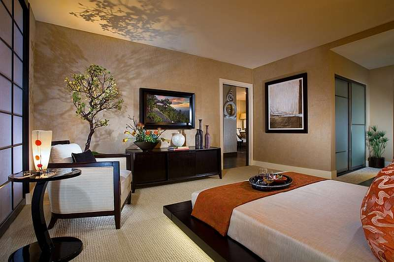 Asian Inspired Bedrooms Infuse Style Serenity