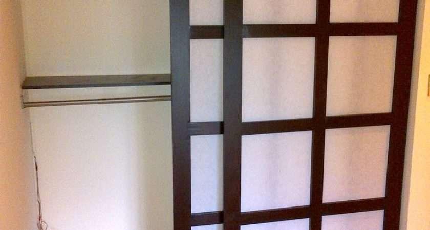 Asian Style Sliding Closet Doors
