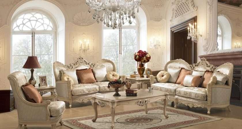 Aspen Light White Wash Formal Living Room Set