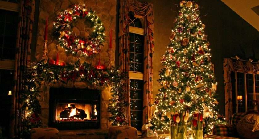 Astonishing Christmas Living Room Curtains