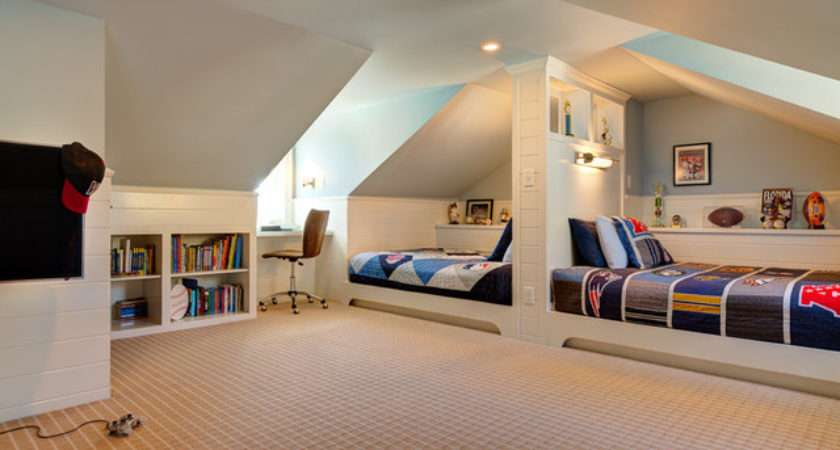 Attic Bedroom Kids Inspirationseek