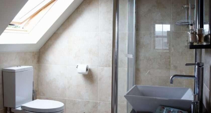 Attic Suite Bathroom Housetohome