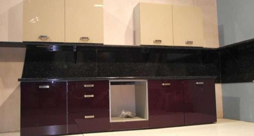 Aubergine Mocha Kitchen Units Complete Rigid Pack