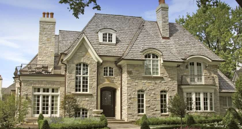 Authentic French Country House Plans Intended