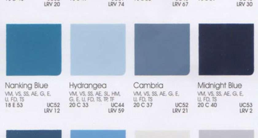 Automotive Color Chips Html Autos Weblog