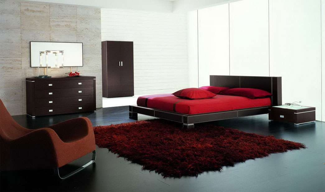 Awesome Black Red Bedroom