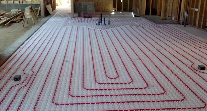 Awesome Hot Water Floor Heating Home Idea