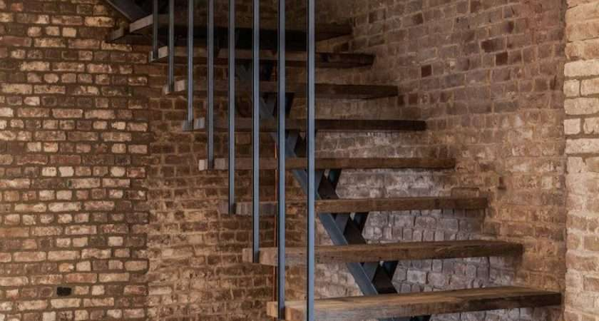 Awesome Industrial Staircase Designs Going Like
