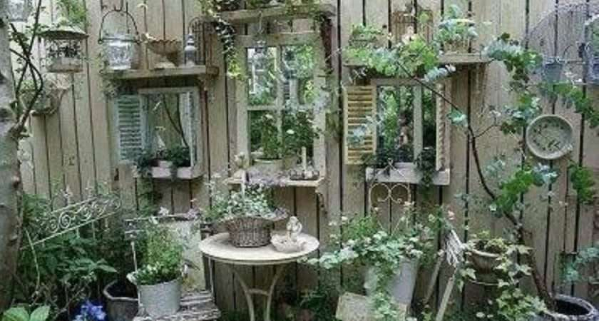 Awesome Outdoor Junk Garden Reuse Your Old Stuff