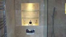 Awesome Recessed Shelves Bathroom Wall Eyagci