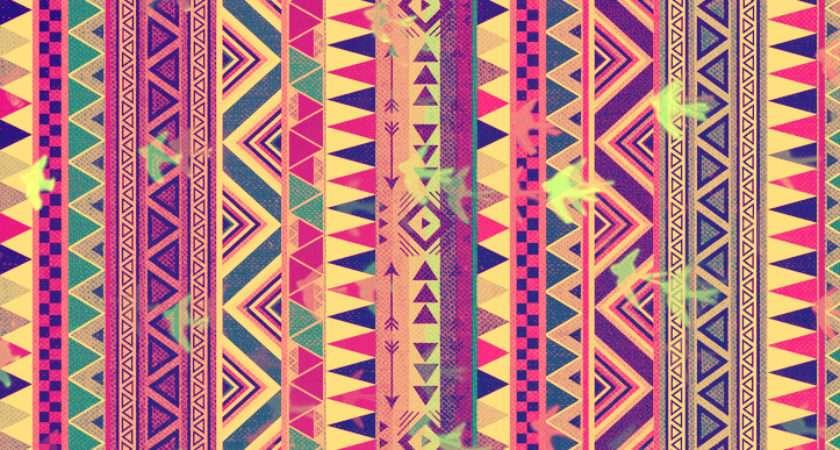 Aztec Tribal Heart Colors