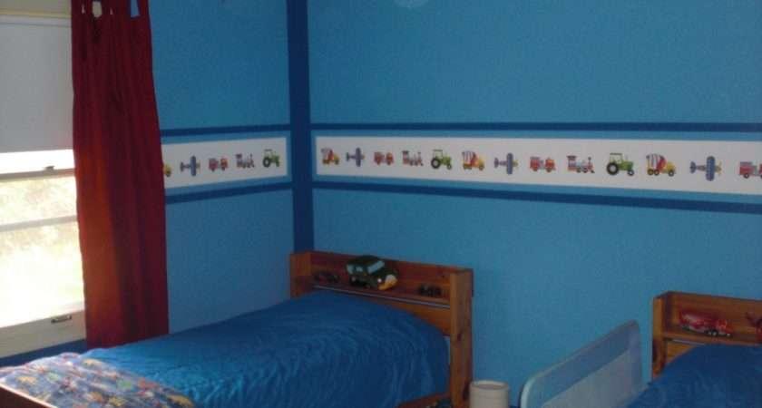 Baby Boy Nursery Wall Border Sportstle