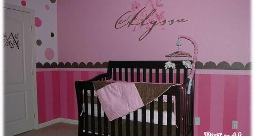 Baby Nursery Decor Photograph Girl Decorating