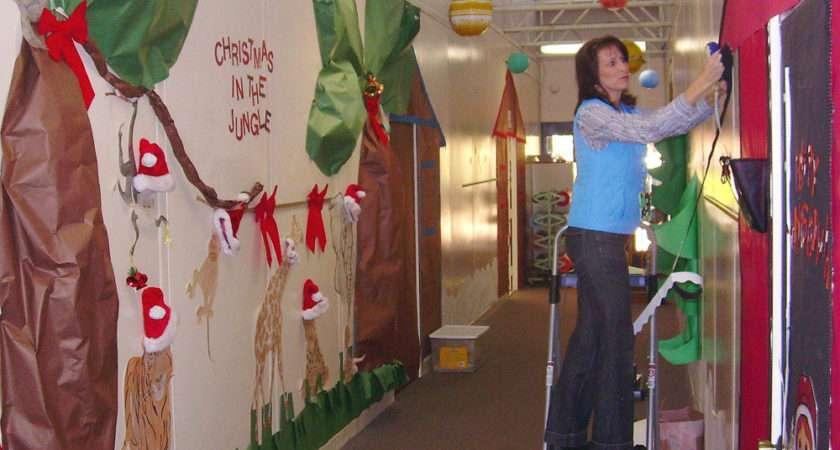 Back Elementary School Hallway Decorating Ideas