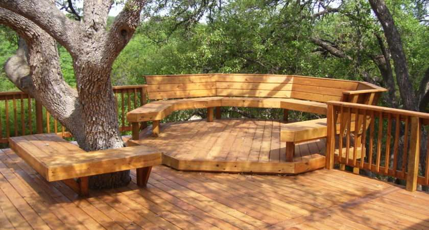Backyard Decking Ideas Our House Amazing Wooden