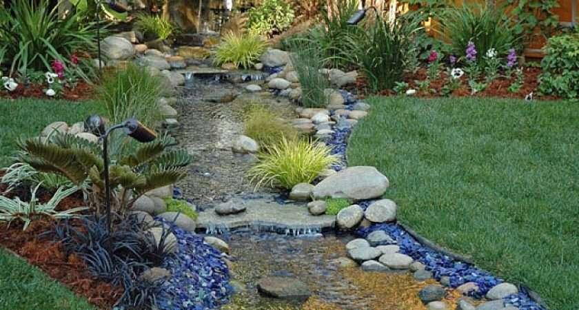 Backyard Landscape Ideas Small Yards Rock Gardens Designs