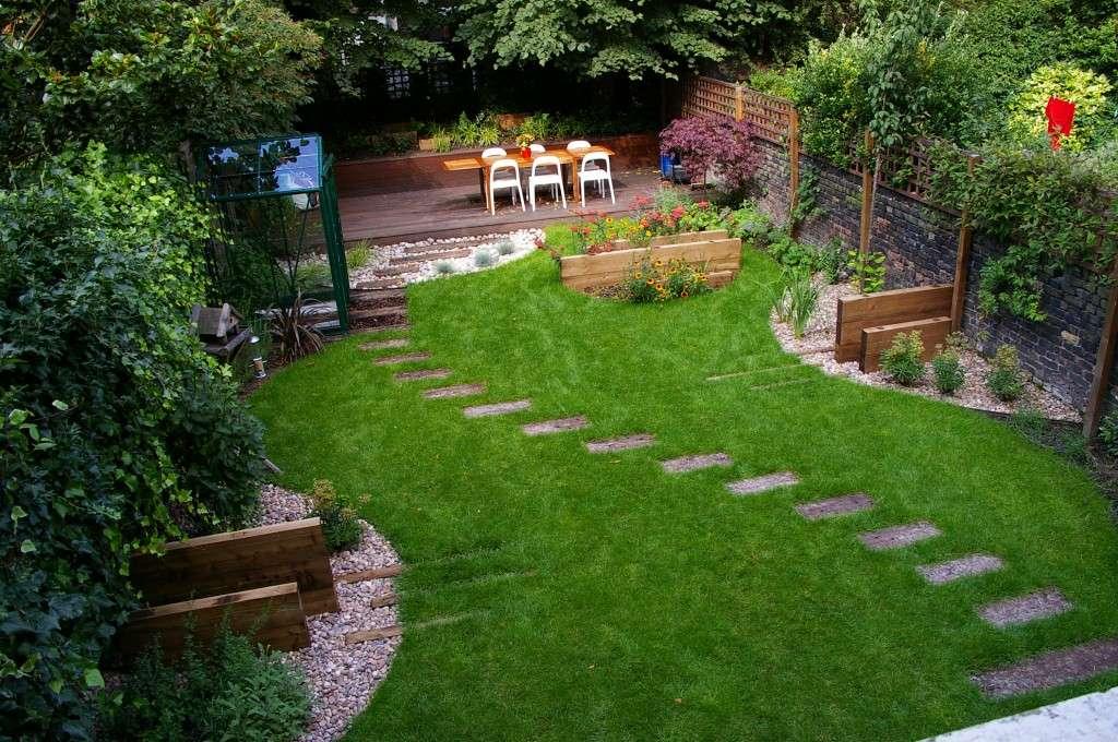 Backyard Minimalist Landscaping Designs Fresh Outside