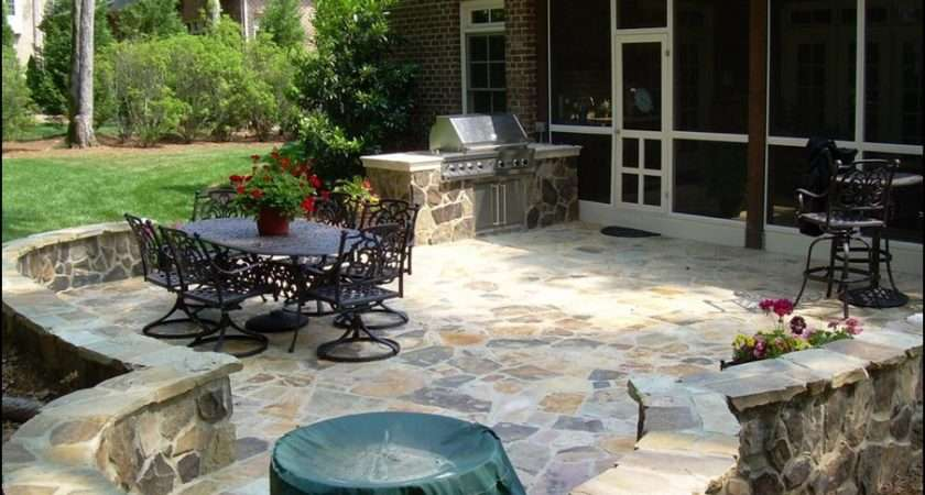 Backyard Patio Ideas Small Spaces Budget All
