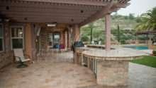 Backyard Patios Hardscape Western Outdoor Design
