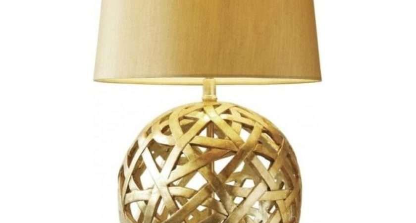 Bal Antique Gold Balthazar Light Table Lamp