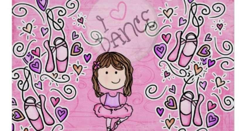 Ballet Dance Wall Mural Poster Girls Bedroom Zazzle
