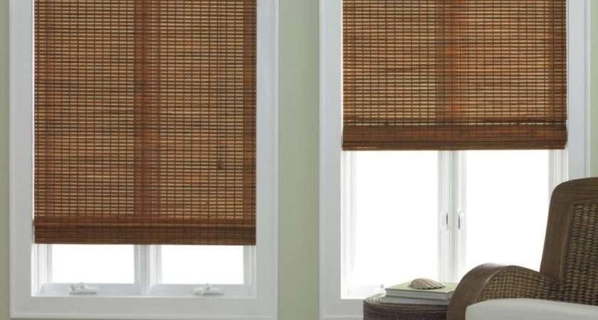 Bamboo Roman Shade Five Colors Shipping Ebay