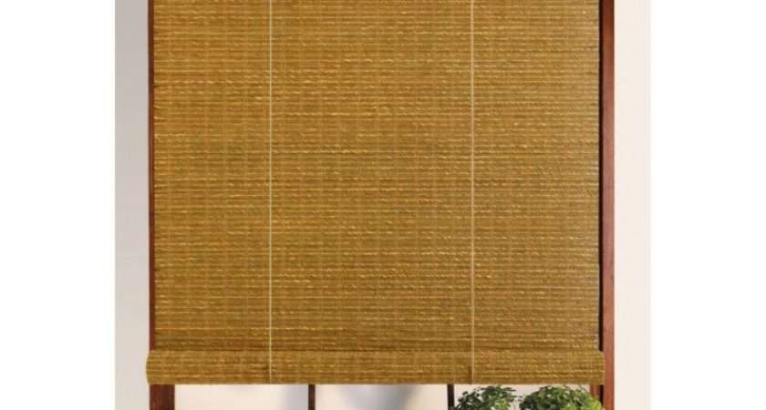 Bamboo Seagrass Roll Blind Valance