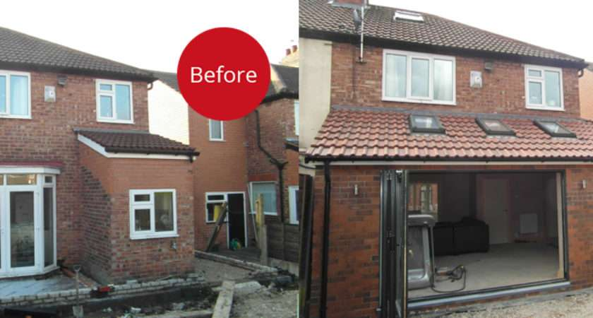 Bank Single Storey Side Rear Extension Granada Home Improvements