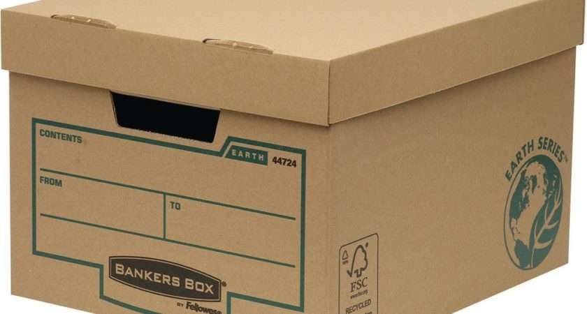 Bankers Box White Budget Storage Boxes Pack Package