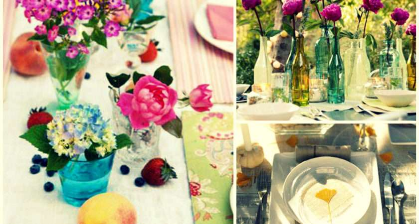 Banquet Table Setting Ideas Setup