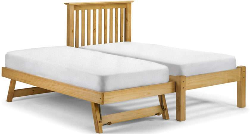 Barcelona Hide Away Antique Single Guest Bed Next Day Delivery