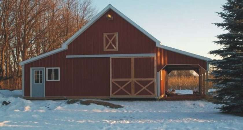 Barn Homes Designs Open Floor Plans Small Home Pole