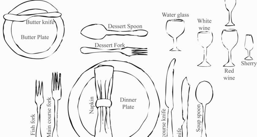 Basics Setting Proper Table Lady Beatrix